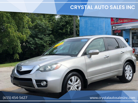 2011 Acura RDX for sale at Crystal Auto Sales Inc in Nashville TN