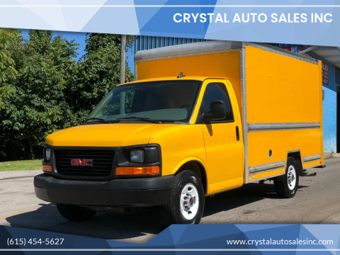 2017 GMC Savana Cutaway for sale at Crystal Auto Sales Inc in Nashville TN