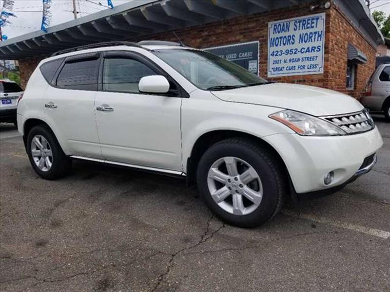 2007 Nissan Murano AWD SL 4dr SUV   Johnson City TN