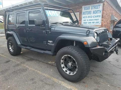 2008 Jeep Wrangler Unlimited for sale in Johnson City, TN