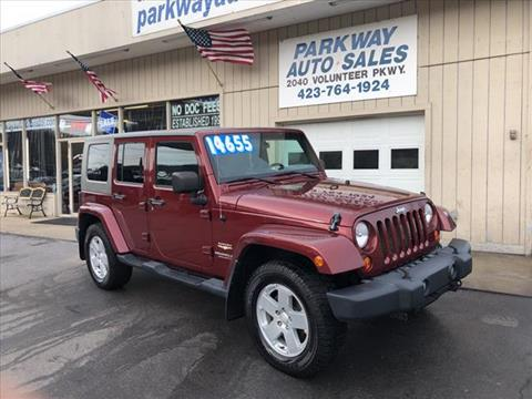 2007 Jeep Wrangler Unlimited for sale in Johnson City, TN