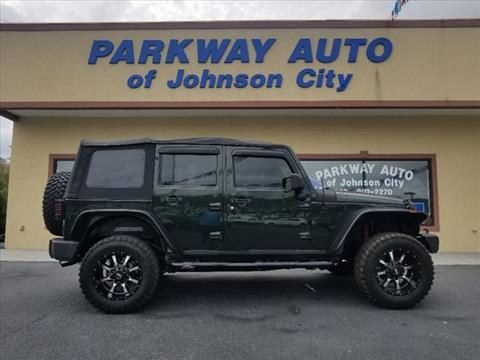 2010 Jeep Wrangler Unlimited for sale in Johnson City, TN