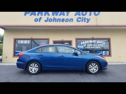 2012 Honda Civic for sale at PARKWAY AUTO SALES OF BRISTOL - PARKWAY AUTO JOHNSON CITY in Johnson City TN