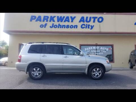 2007 Toyota Highlander for sale at PARKWAY AUTO SALES OF BRISTOL - PARKWAY AUTO JOHNSON CITY in Johnson City TN