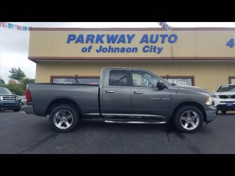 2012 RAM Ram Pickup 1500 for sale at PARKWAY AUTO SALES OF BRISTOL - PARKWAY AUTO JOHNSON CITY in Johnson City TN