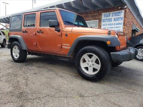 2011 Jeep Wrangler Unlimited for sale at PARKWAY AUTO SALES OF BRISTOL - Roan Street Motors in Johnson City TN