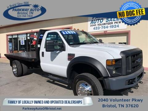 2008 Ford F-550 Super Duty for sale at PARKWAY AUTO SALES OF BRISTOL in Bristol TN