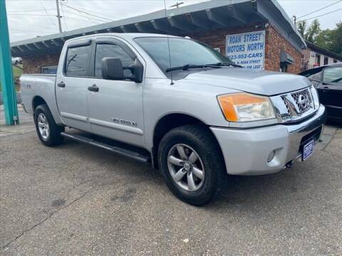2012 Nissan Titan for sale at PARKWAY AUTO SALES OF BRISTOL - Roan Street Motors in Johnson City TN