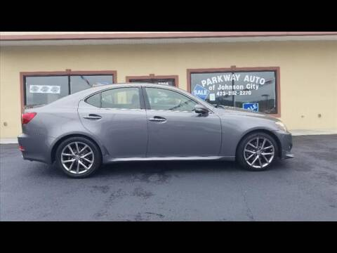 2013 Lexus IS 250 for sale at PARKWAY AUTO SALES OF BRISTOL - PARKWAY AUTO JOHNSON CITY in Johnson City TN