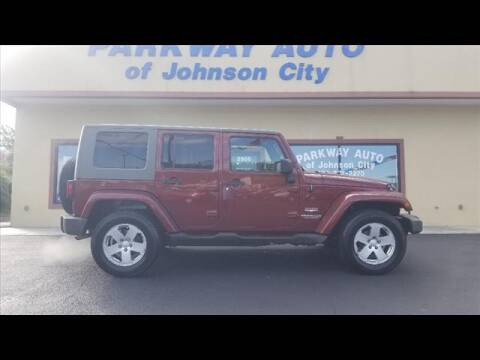 2008 Jeep Wrangler Unlimited for sale at PARKWAY AUTO SALES OF BRISTOL - PARKWAY AUTO JOHNSON CITY in Johnson City TN