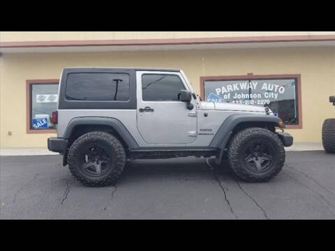 2015 Jeep Wrangler for sale at PARKWAY AUTO SALES OF BRISTOL - PARKWAY AUTO JOHNSON CITY in Johnson City TN