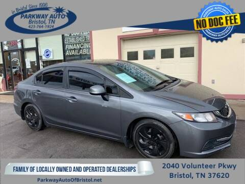 2013 Honda Civic for sale at PARKWAY AUTO SALES OF BRISTOL in Bristol TN