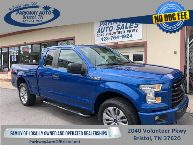 2017 Ford F-150 for sale at PARKWAY AUTO SALES OF BRISTOL in Bristol TN