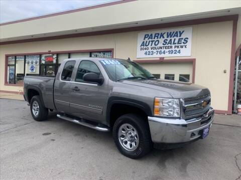 2012 Chevrolet Silverado 1500 for sale at PARKWAY AUTO SALES OF BRISTOL in Bristol TN