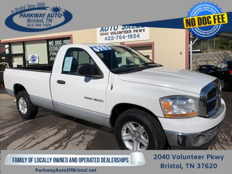2006 Dodge Ram Pickup 1500 for sale at PARKWAY AUTO SALES OF BRISTOL in Bristol TN