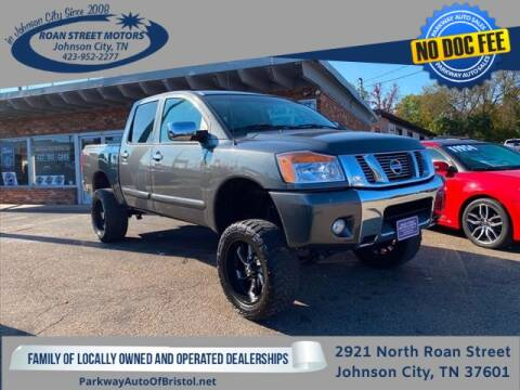 2011 Nissan Titan for sale at PARKWAY AUTO SALES OF BRISTOL - Roan Street Motors in Johnson City TN