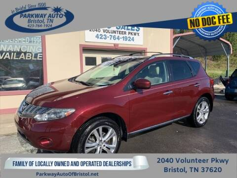 2010 Nissan Murano for sale at PARKWAY AUTO SALES OF BRISTOL in Bristol TN