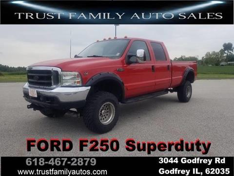 2001 ford f 250 super duty for sale carsforsale Ford F 250 Lariat Crew Cab Diesel 2005 2001 ford f 250 super duty for sale in godfrey il