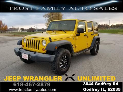 2009 Jeep Wrangler Unlimited for sale in Godfrey, IL