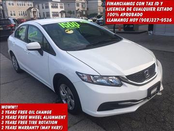 2015 Honda Civic for sale in Elizabeth NJ