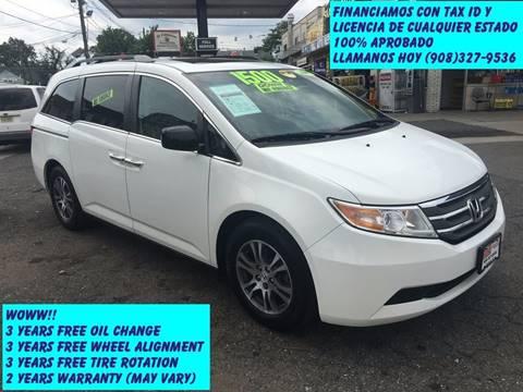 2011 Honda Odyssey for sale in Elizabeth, NJ