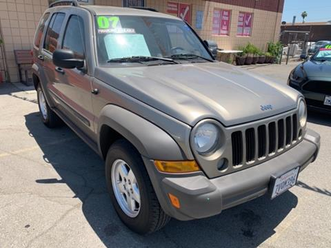 2007 Jeep Liberty for sale in Los Angeles, CA