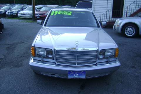 1989 Mercedes-Benz 420-Class for sale at Balic Autos Inc in Lanham MD