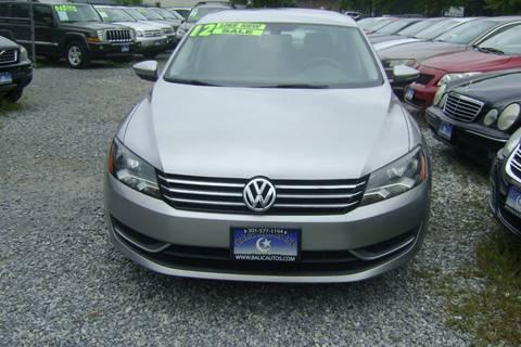 2012 Volkswagen Passat for sale in Lanham, MD