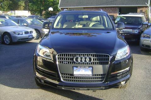 2009 Audi Q7 for sale at Balic Autos Inc in Lanham MD