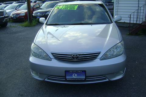 2006 Toyota Camry for sale at Balic Autos Inc in Lanham MD