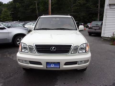 2002 Lexus LX 470 for sale at Balic Autos Inc in Lanham MD