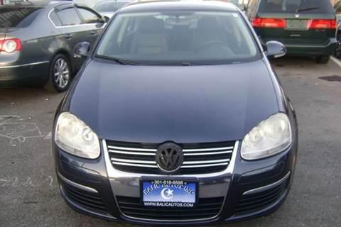 2007 Volkswagen Jetta for sale at Balic Autos Inc in Lanham MD
