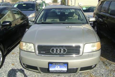 2004 Audi A6 for sale at Balic Autos Inc in Lanham MD