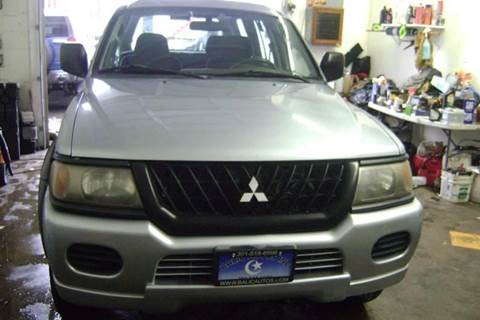 2004 Mitsubishi Montero Sport for sale at Balic Autos Inc in Lanham MD