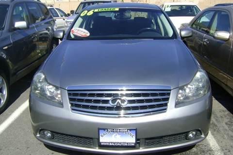 2006 Infiniti M45 for sale at Balic Autos Inc in Lanham MD