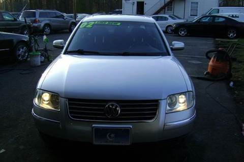 2002 Volkswagen Passat for sale at Balic Autos Inc in Lanham MD