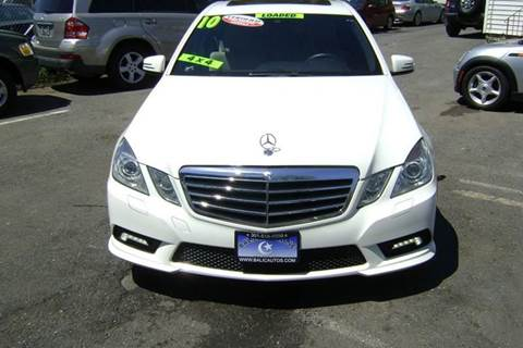 2010 Mercedes-Benz E-Class for sale at Balic Autos Inc in Lanham MD