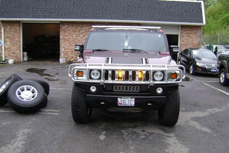 2006 HUMMER H2 for sale at Balic Autos Inc in Lanham MD