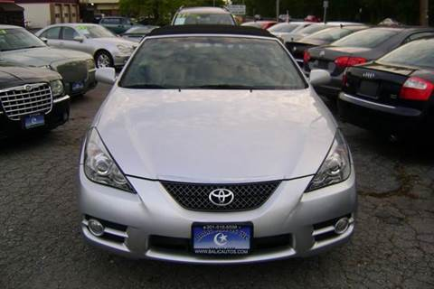 2007 Toyota Camry Solara for sale at Balic Autos Inc in Lanham MD