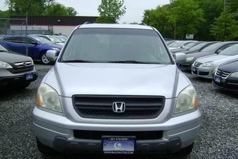 2004 Honda Pilot for sale at Balic Autos Inc in Lanham MD