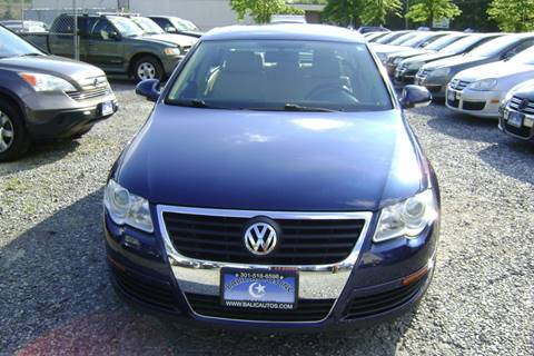 2006 Volkswagen Passat for sale at Balic Autos Inc in Lanham MD