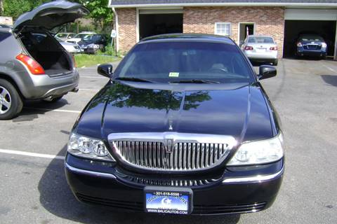 2010 Lincoln Town Car for sale at Balic Autos Inc in Lanham MD