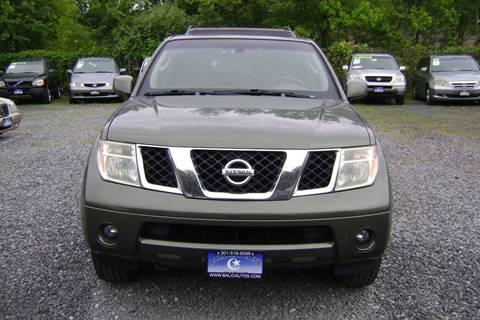 2005 Nissan Pathfinder for sale at Balic Autos Inc in Lanham MD