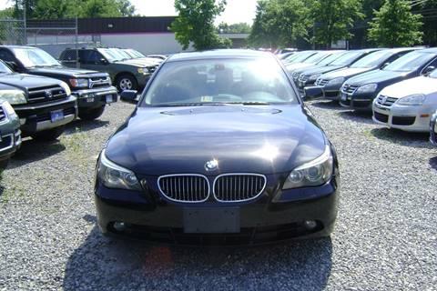 2007 BMW 5 Series for sale at Balic Autos Inc in Lanham MD