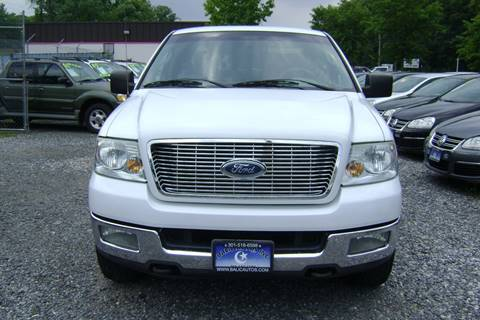 2004 Ford F-150 for sale at Balic Autos Inc in Lanham MD