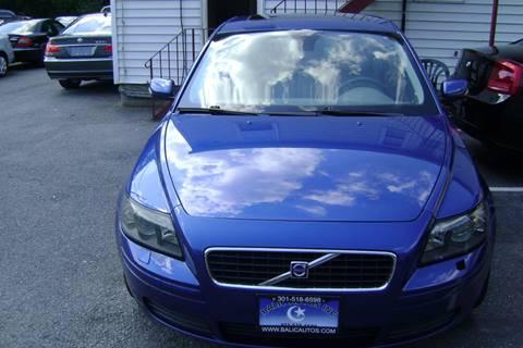 2006 Volvo S40 for sale at Balic Autos Inc in Lanham MD