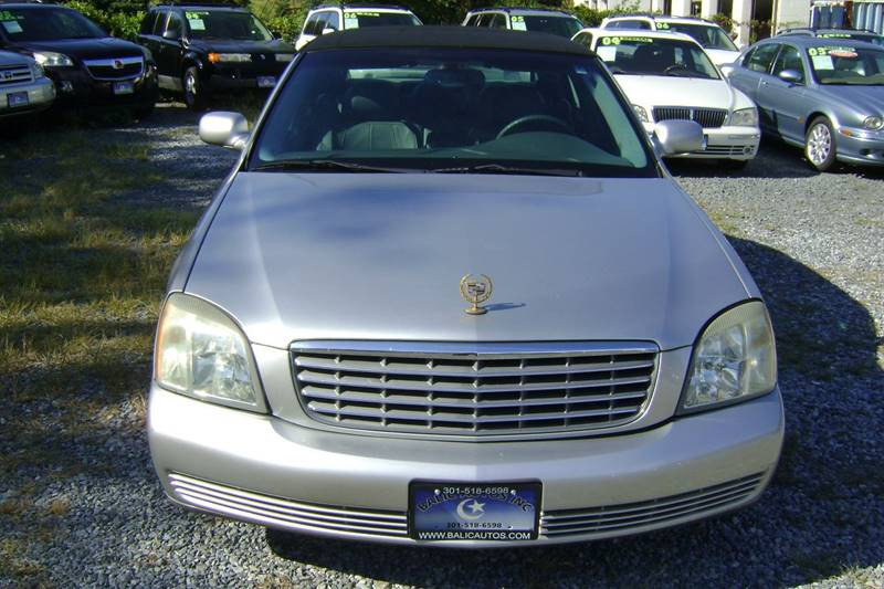 2005 Cadillac DeVille for sale at Balic Autos Inc in Lanham MD