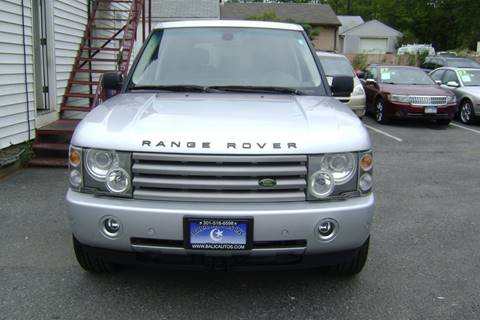 2004 Land Rover Range Rover for sale at Balic Autos Inc in Lanham MD