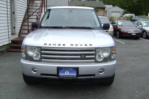 2004 Land Rover Range Rover for sale in Lanham, MD