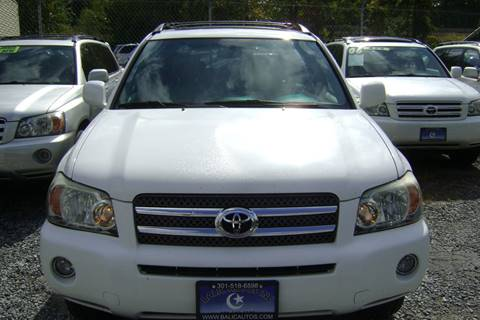 2006 Toyota Highlander Hybrid for sale in Lanham, MD